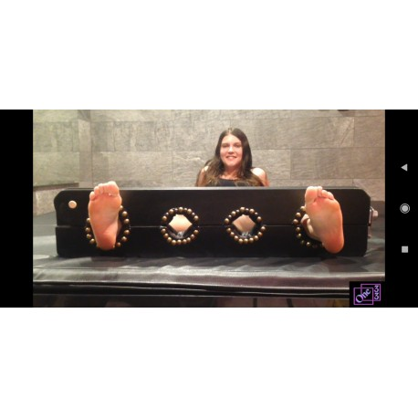 Nella Foot Tickling in Stocks (Chapter 2)